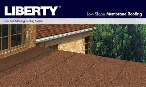 flatlow slope roofing county roofing systems
