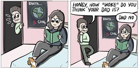 Dad Reading Newspaper Meme - 15 hilarious and highly relatable parenting comics read comic strips at gocomics com