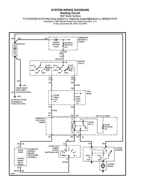wiring diagram buick regal wiring diagram and schematics