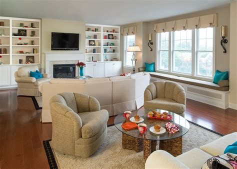 Large Living Room With 2 Seating Areas by Cozy Family Room Features Two Seating Areas Hgtv