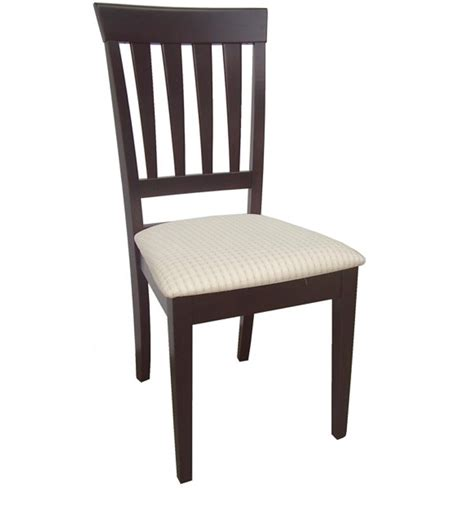 dining chair in walnut finish by godrej interio by