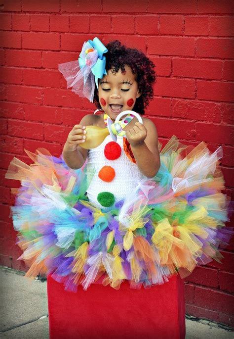 Cute Clown Tutu Costume!  Ccostume Ideas Pinterest