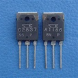 2SA1186 & 2SC2837 SANKEN Audio Power Transistor, x 2 | eBay