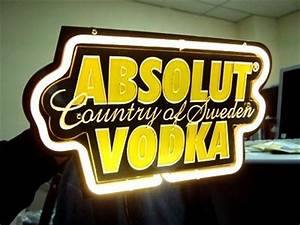 12 best images about ABSOLUT VODKA NEON LIGHT SIGN on