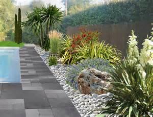 decoration jardin avec galets