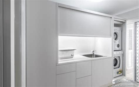 tv and storage unit it 39 s a tambortech door not a kitchen roller door or a