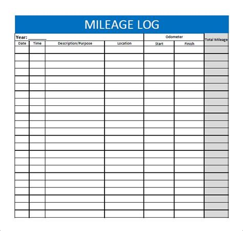 Daily Log Template Pdf Printable