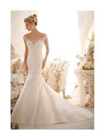 wedding guest favors mori 2617 wedding dress ivory tulle fishtail style