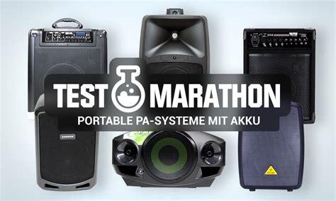 akku lautsprecher test testmarathon mobile pa anlagen mit akku bonedo