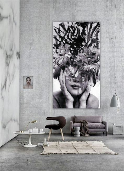big wall decor the latest d 233 cor trend 31 large scale wall art ideas