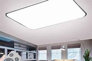Led Deckenleuchte Dimmbar Fernbedienung : deckenlampe led deckenleuchte dimmbar 72w mit fernbedienung wohnzimmer lampe modern ~ A.2002-acura-tl-radio.info Haus und Dekorationen