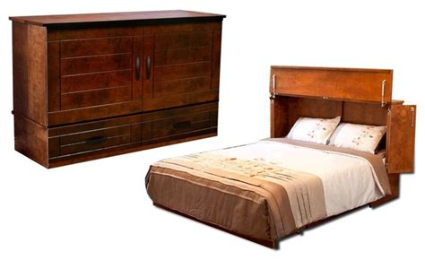 Cabinet Bed Metro Queen Cabinet Bed Cojoba (murphy Bed) By Small Glass Lamp T5 Lamps Stained Shades Only Destinations By Regina Andrew Pinball Wooden Table Floor Black White Bedside