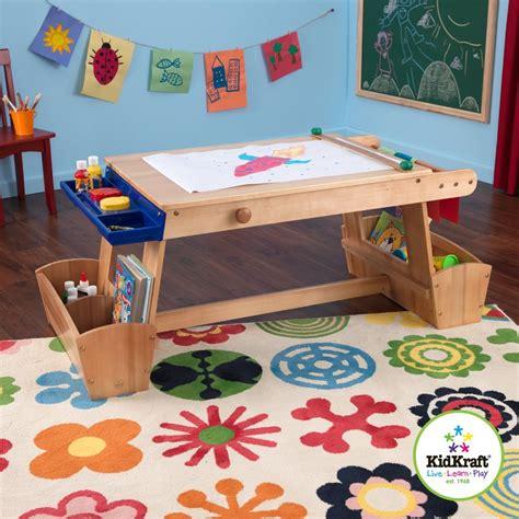 art and craft desk with storage kidkraft drying rack and storage kids arts and crafts