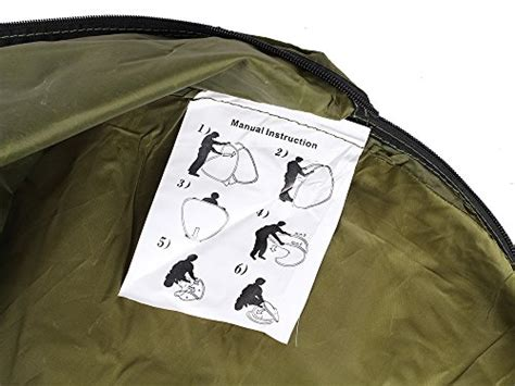 tms portable outdoor green pop  tent camping shower privacy toilet changing room  window