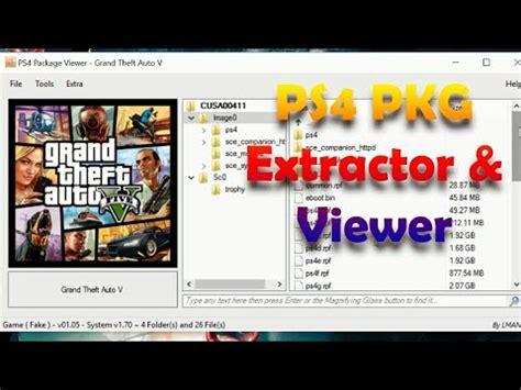 extract  marge pkg file  jailbreak ps funnydogtv