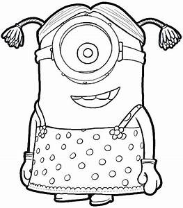 How to Draw Stuart the Minion Dressed as a Girl from ...
