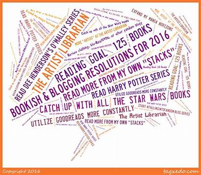 Bookish Resolutions Blogging Librarian Artist Tuesday