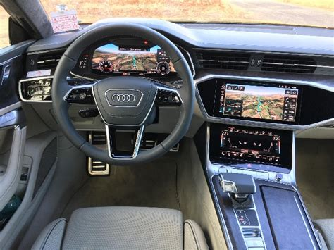 2019 Audi A7 Interior by 2019 Audi A7 Test Drive Auto Reviews