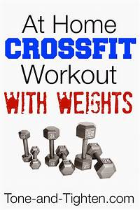 At Home Crossfit Workout With Weights