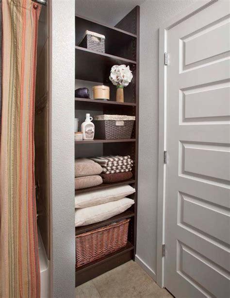 delectable bathroom closet organization systems ideas