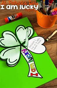 Genogram Templates St Patrick 39 S Day Clover Quot I Am Lucky Quot Craftivity What I