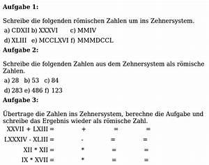 Römische Zahlen 2016 : mathe ist einfach r mische zahlen arbeitsblatt 1 ~ Orissabook.com Haus und Dekorationen