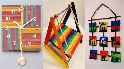 diy room decor 10 amazing diy popsicle stick crafts ideas