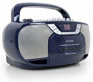 Radio Mit Cd Spieler : klassischer radiorekorder cd player tragbar kassette tuner ~ Jslefanu.com Haus und Dekorationen