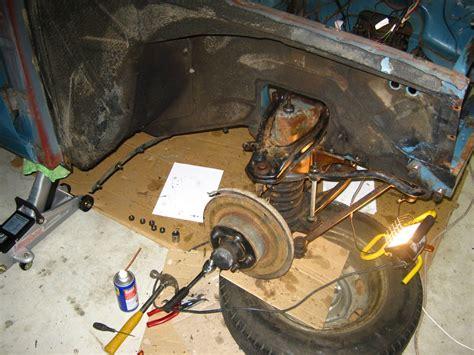restoration volvo   front suspension volvo