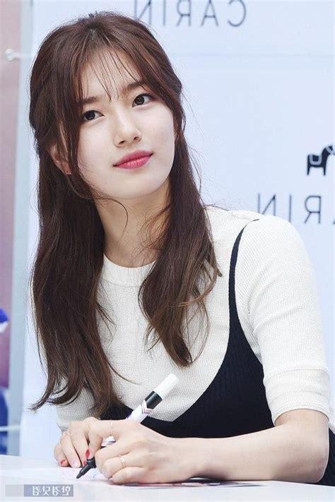 inspirations  korean girl long hairstyles