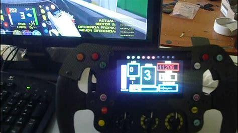 volante f1 pc steering wheel f1 mercedes replica pc logitech g27