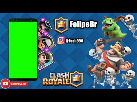Template Capa de fundo Do Clash Royale YouTube