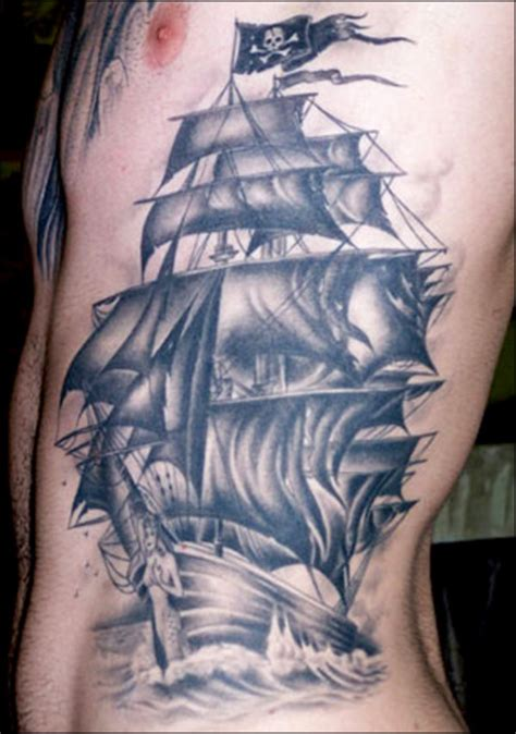 Youth Tattoos Pirate Tattoo Pictures Design Ideas For