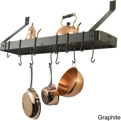 Kitchen Pot Rack Holder Pan Hanging Wall Organizer