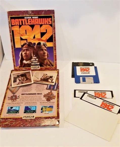 Lucasfilm Battlehawks 1942 Pc 525 And 35 Floppy Disk Ibm