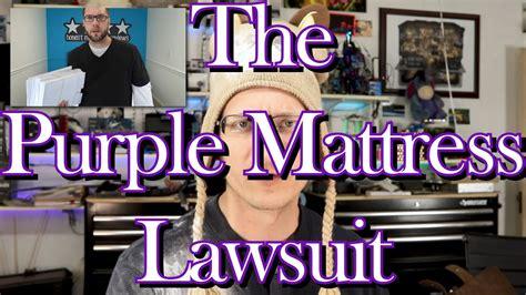 purple mattress lawsuit    honest review youtube
