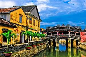 Hoi An sits right by the South China Sea, and was once an