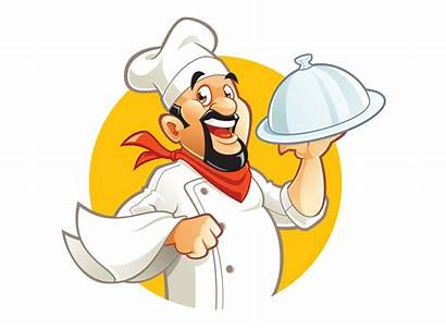 Chef Cartoon Smiling Character Vector Clipart