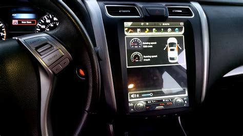 tesla style android head unit