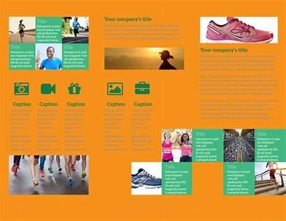 Brochure Running Club Template Brochures Templates Mycreativeshop
