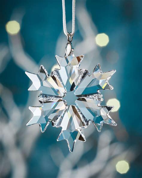 Swarovski Little Crystal Snowflake Christmas Ornament