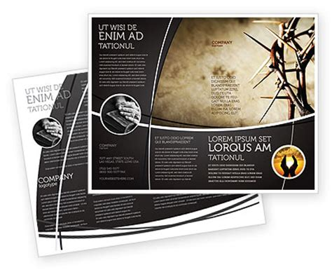 Template Brochure Illustrator by Thorns Brochure Template Design And Layout Now