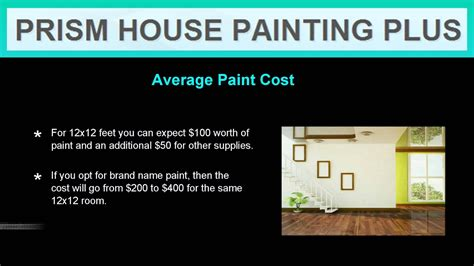 cost  paint  house interior youtube