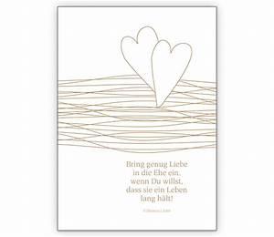 Glückwunschkarten Zur Goldenen Hochzeit : gl ckwunschkarte zur goldenen hochzeit grusskarten onlineshop ~ Frokenaadalensverden.com Haus und Dekorationen