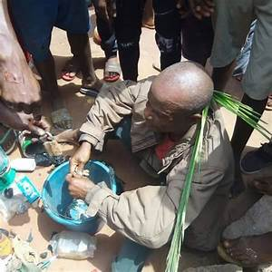 SHOCKING; Man Nabbed While Trying To Plant Charms In His ...