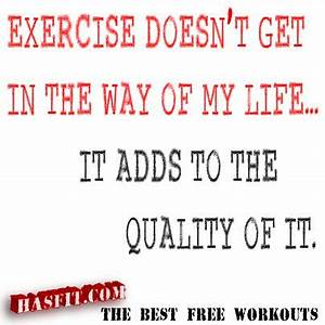 exercise poster... Workout Support Quotes