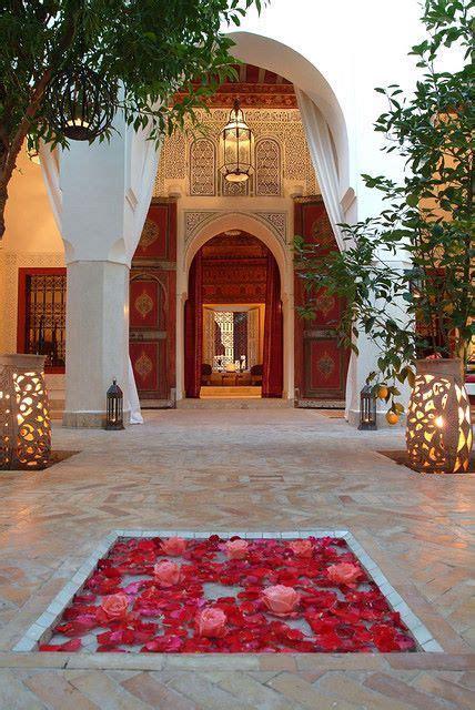 courtyard morocco  im      morocco moroccan style marrakech