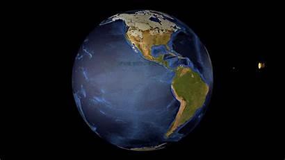 Earth Globe Animation Animated Rotating Spinning 1080
