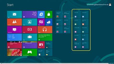 Office 2013 und Windows 8  Bildergalerie und