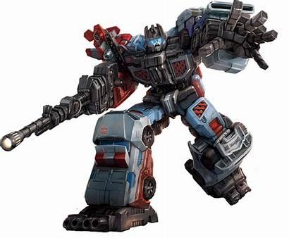 Combiner Defensor Wars Transformers Artwork Combiners Character